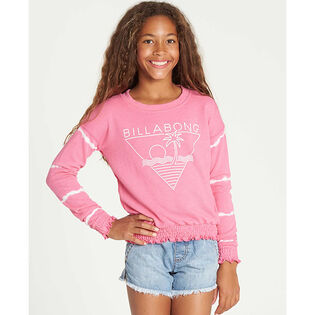 Junior Girls' [7-14] Makin' Waves Sweatshirt