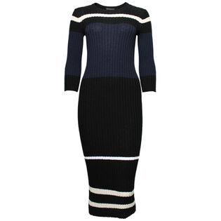 Women's Striped Cotton Dress