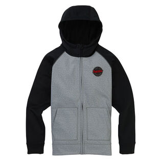 Juniors' [8-16] Crown Bonded Full-Zip Hoodie