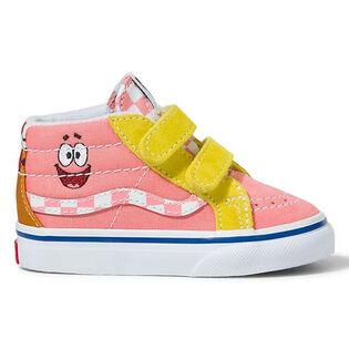 Chaussures SpongeBob Sk8-Mid Reissue V pour bébés [6-10]