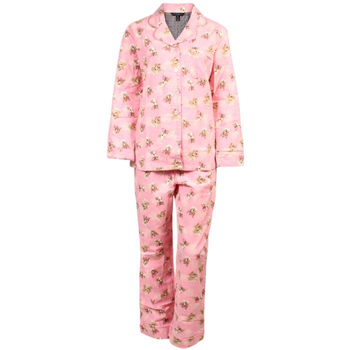 Ensemble pyjama deux pièces Flower Animals pour femmes