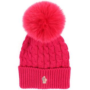 Women's Fur Pom Hat