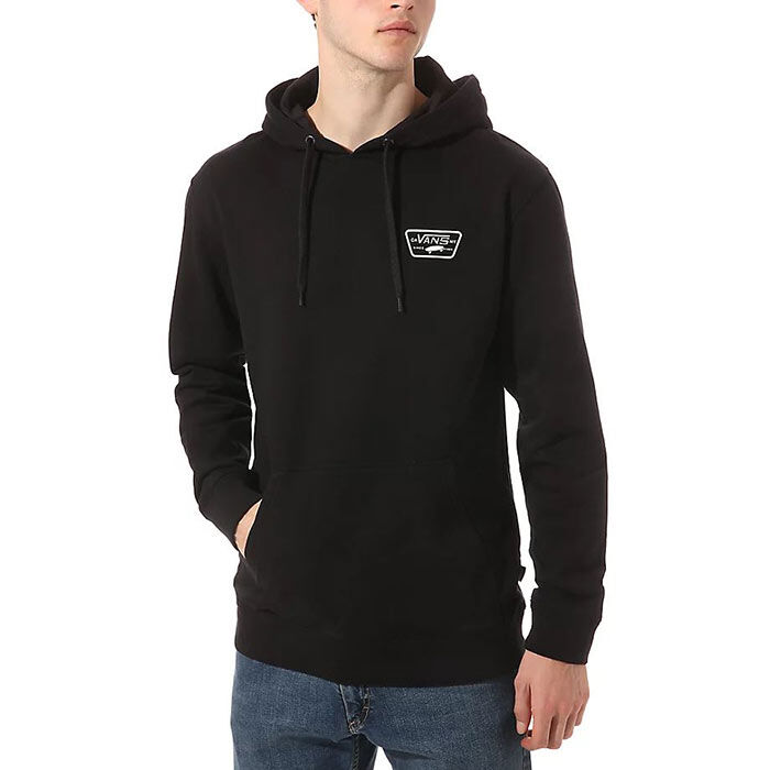 Men's Full Patched Pullover Hoodie