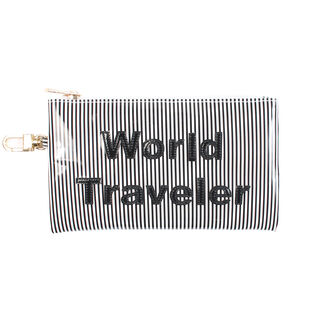 Striped World Traveler Laura Case