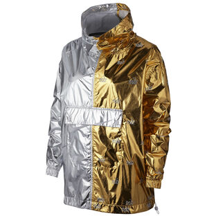 Women's Sportswear Metallic Pullover Jacket