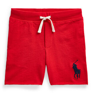 Boys' [5-7] Big Pony Cotton Terry Pull-On Short