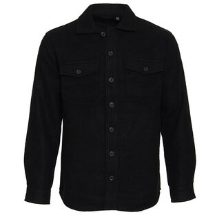 Men's Solid Shirt Jacket