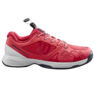 Juniors' [12-6] Rush Pro QL Tennis Shoe