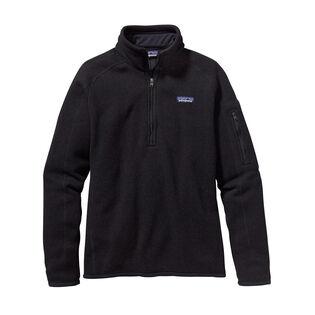 Chandail en molleton à fermeture éclair quart de longueur Better Sweater® pour femmes