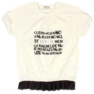 Junior Girls' [8-14] Mesh Peplum T-Shirt