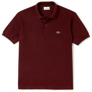 Men's Original Heathered Short Sleeve Pique Polo Shirt