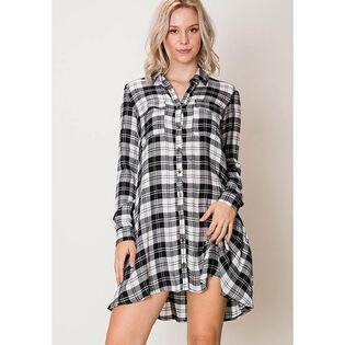 Women's Buffalo Plaid Shirt Dress