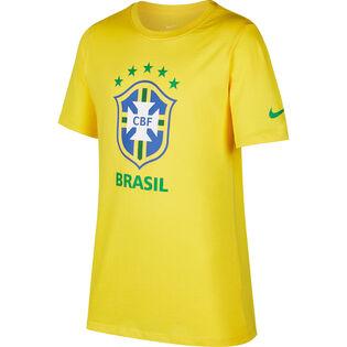 Le t-shirt à armoirie Brazil CBF pour juniors [7-20]