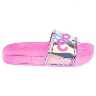 Juniors' [10-3] Cool Slide Sandal