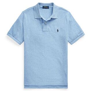 Junior Boys' [8-20] Cotton Mesh Polo