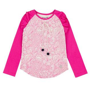 Girls' [3-6] Mandala Therapy Raglan T-Shirt
