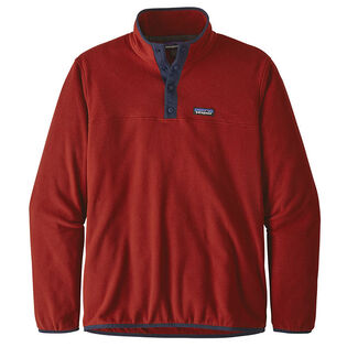 Men's Micro D® Snap-T® Fleece Pullover Sweater