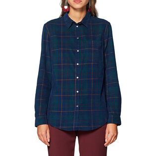 Women's Check Corduroy Shirt