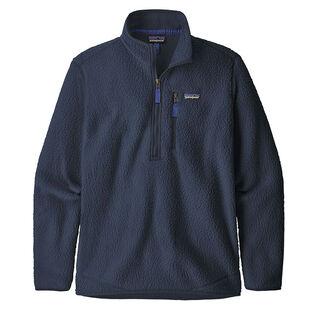 Men's Retro Pile Fleece Pullover Top