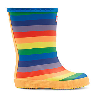 Kids' [7-13] First Classic Rainbow Rain Boot