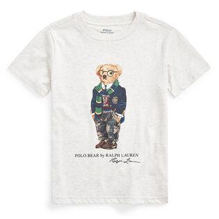 Boys' [2-4] Rugby Bear Cotton Jersey T-Shirt