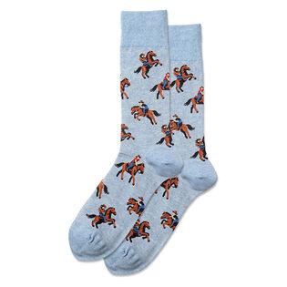 Men's Cowboy Crew Sock