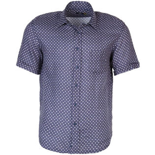 Men's Printed Linen Shirt