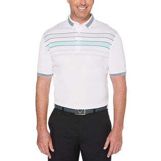 Men's Engineered Chest Stripe Polo