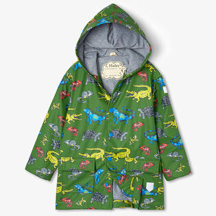 Boys' [2-8] Aquatic Reptiles Raincoat