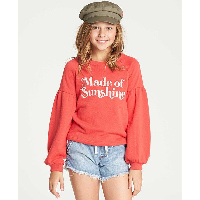 Junior Girls' [7-14] Full Bloom Sweatshirt