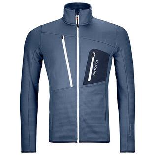 Men's Fleece Grid Jacket