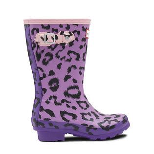 Juniors' [13-5] Original Leopard Print Rain Boot