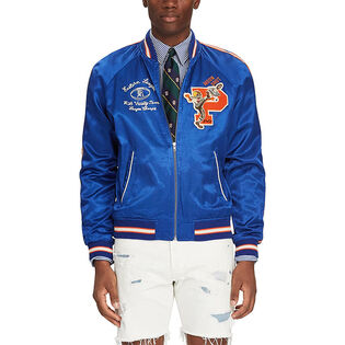 Men's Satin Souvenir Baseball Jacket