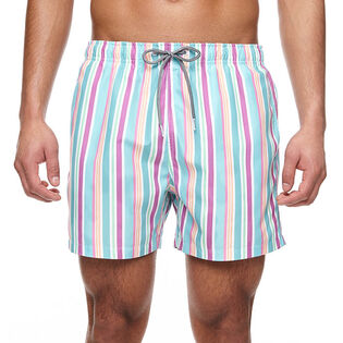 Men's Rock Stripe Swim Trunk