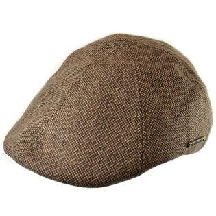 Men's Wool Blend Tweed Duckbill Ivy Cap
