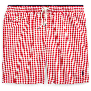 Junior Boys' [8-20] Traveler Gingham Swim Trunk