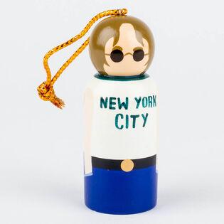 John Lennon Peg Ornament