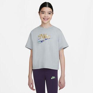 Junior Girls' [7-16] Sportswear Boxy T-Shirt