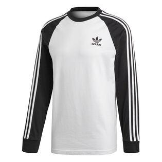 Men's 3-Stripes Long Sleeve T-Shirt