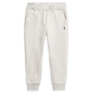 Pantalon à cordon de serrage en mélange de coton pour garçons [2-4]