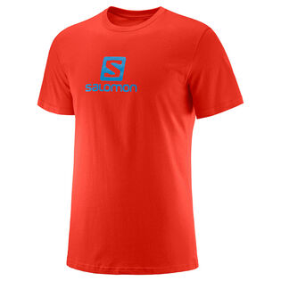 T-shirt en coton à logo pour hommes
