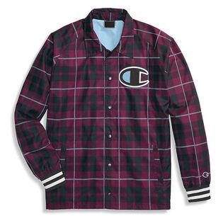 Men's Printed Satin Coaches Jacket