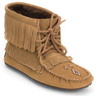 Women's Harvester Lined Moccasin