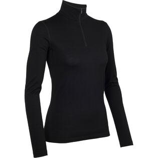 Women's Oasis Long Sleeve Half Zip Top