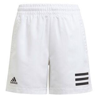 Junior Boys' [8-16] Club Tennis 3-Stripes Short