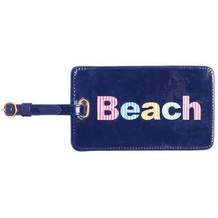 Étiquette à bagage Beach