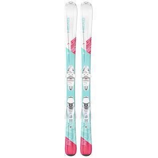 Juniors' Joy SLR Pro Ski + SLR 4.5 GW AC Binding [2021]