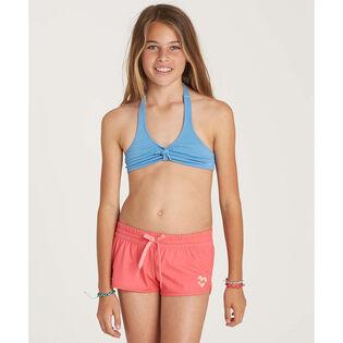 Short de surf Sol Searcher Volley pour filles juniors [7-14]