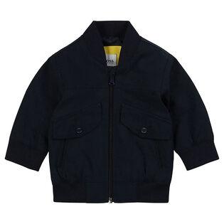 Boys' [12M-3Y] Twill Bomber Jacket