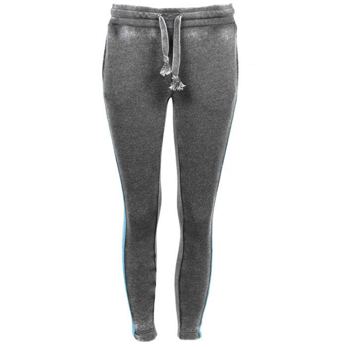 Pantalon de jogging doux à rayure pour femmes